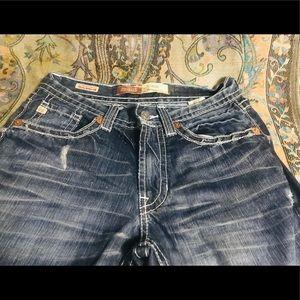 Big Star Pioneer Distressed Jeans